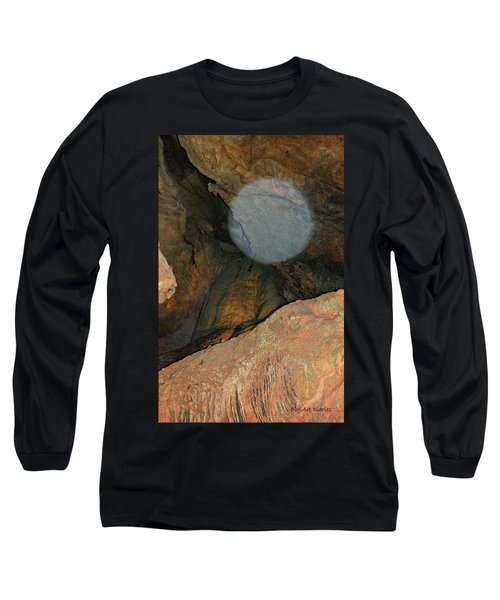 Ghostly Presence Long Sleeve T-Shirt by DigiArt Diaries by Vicky B Fuller