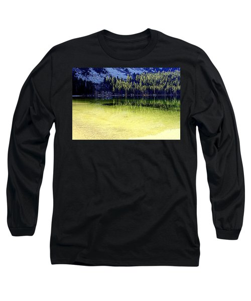 Ghostly Reflections Long Sleeve T-Shirt