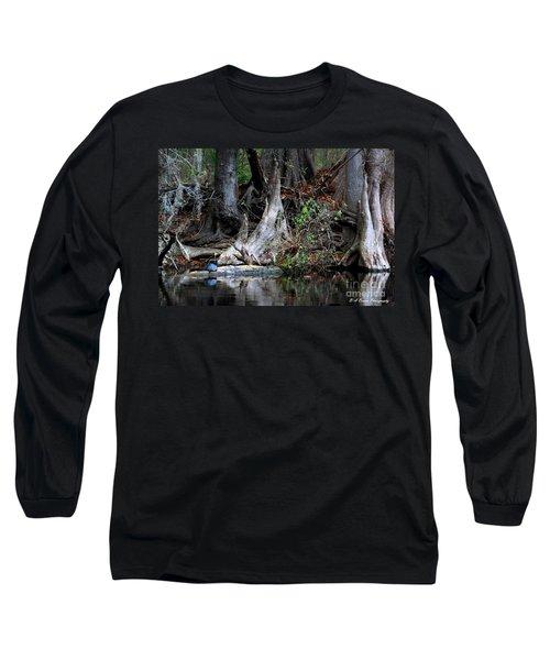 Giant Cypress Knees Long Sleeve T-Shirt