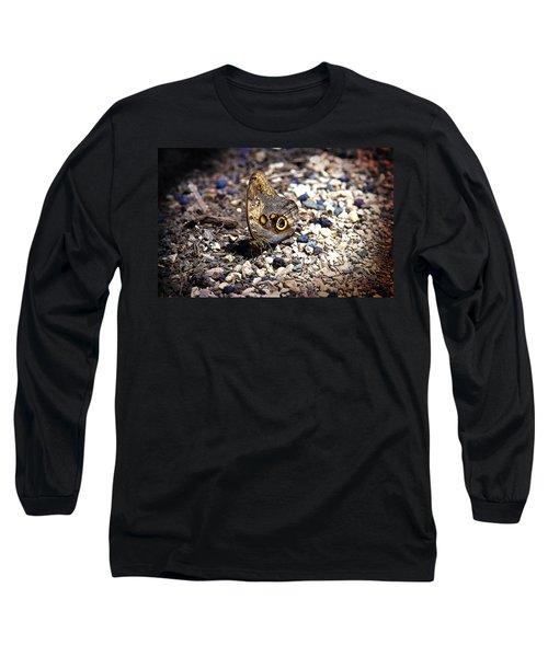 Giant Owl Long Sleeve T-Shirt