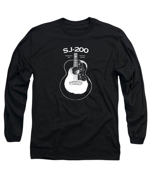Gibson Sj-200 1948 Long Sleeve T-Shirt