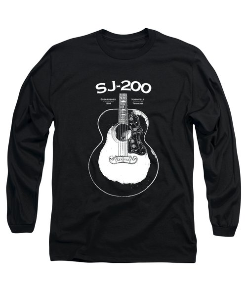 Gibson Sj-200 1948 Long Sleeve T-Shirt