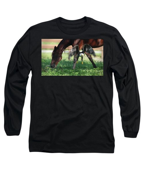 Giddy Up. Long Sleeve T-Shirt