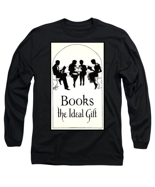 Long Sleeve T-Shirt featuring the photograph Gift Books 1920 by Padre Art