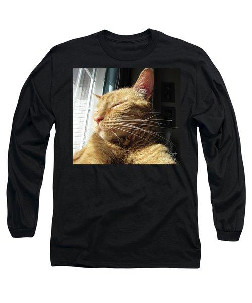 Ginger Tabby Long Sleeve T-Shirt