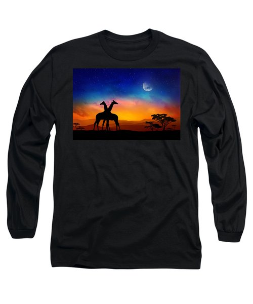 Giraffes Can Dance Long Sleeve T-Shirt
