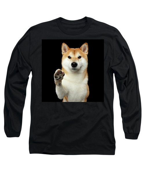 Give Me A Hand Man Long Sleeve T-Shirt