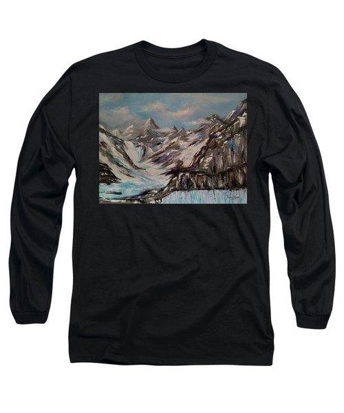 Glacier Bay, Alaska Long Sleeve T-Shirt