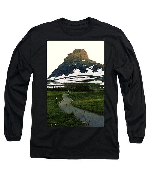 Glacier National Park 8 Long Sleeve T-Shirt
