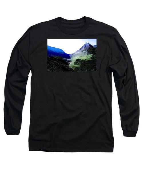 Glacier Park Simplified Long Sleeve T-Shirt