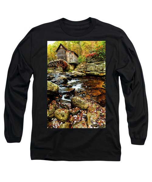 Glade Creek Grist Mill Fall  Long Sleeve T-Shirt