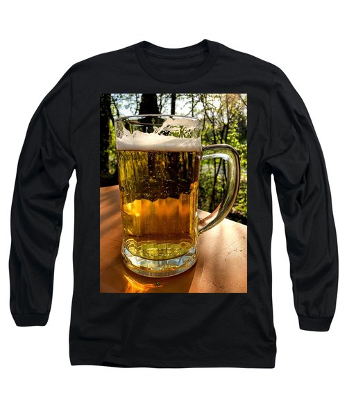 Glass Of Beer Long Sleeve T-Shirt