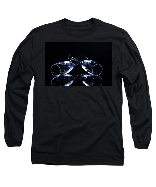 Glass Of Shampagne Long Sleeve T-Shirt