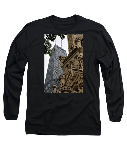 Glass Steel And Stone Long Sleeve T-Shirt