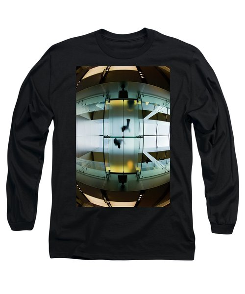 Glass Walkway Apple Store Stockton Street San Francisco Long Sleeve T-Shirt