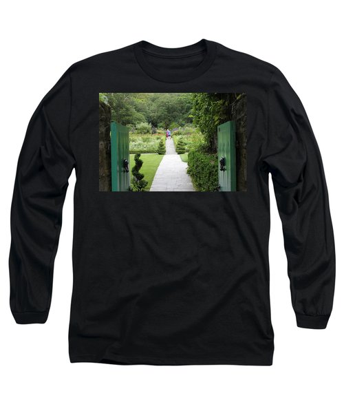 Glenveagh Castle Gardens 4272 Long Sleeve T-Shirt