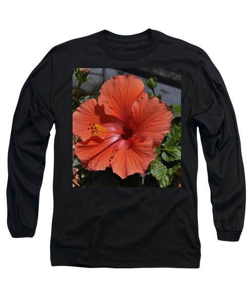 Glorious Hibiscus Long Sleeve T-Shirt