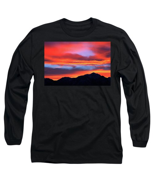 Glorious Sunrise Long Sleeve T-Shirt by Paul Marto
