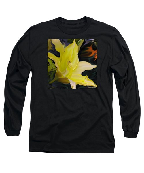 Long Sleeve T-Shirt featuring the painting Glory II by Patricia Griffin Brett