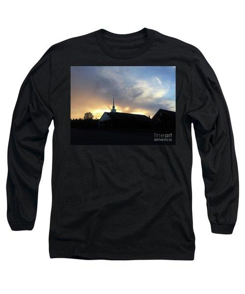Glory To God Sunset Long Sleeve T-Shirt