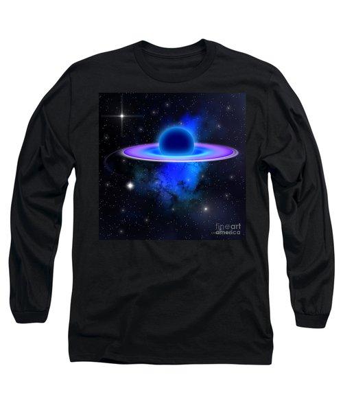 Glowing Black Hole  Long Sleeve T-Shirt