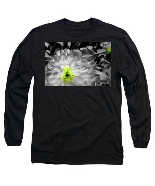 Glowing Heart Long Sleeve T-Shirt