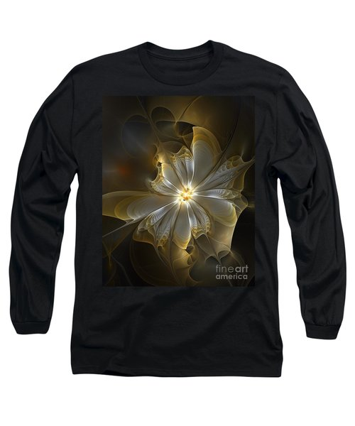 Glowing In Silver And Gold Long Sleeve T-Shirt