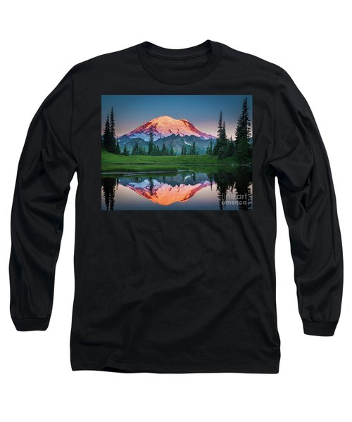 Glowing Peak - August Long Sleeve T-Shirt