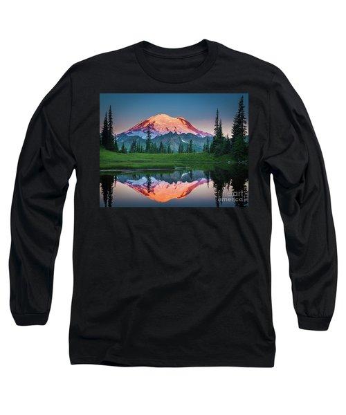 Glowing Peak - August Long Sleeve T-Shirt