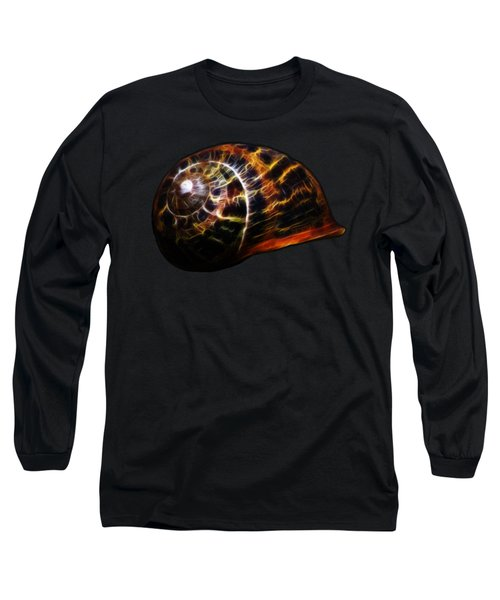 Long Sleeve T-Shirt featuring the photograph Glowing Shell by Shane Bechler