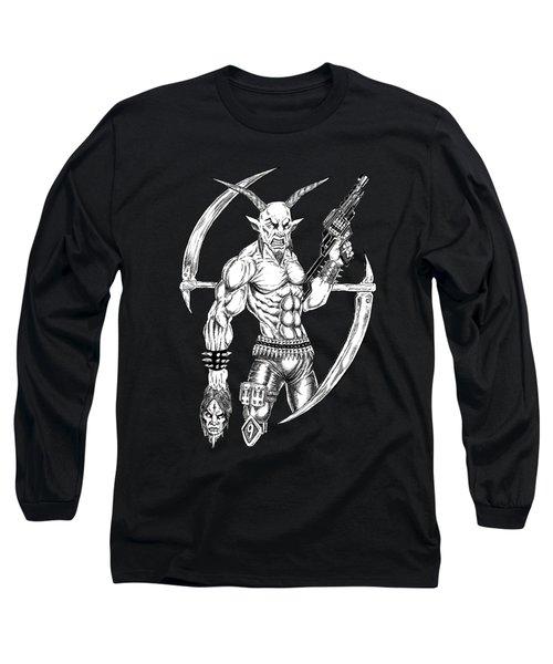 Goatlord Reaper Long Sleeve T-Shirt