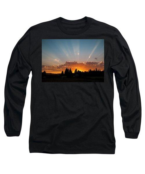 God Beams Long Sleeve T-Shirt