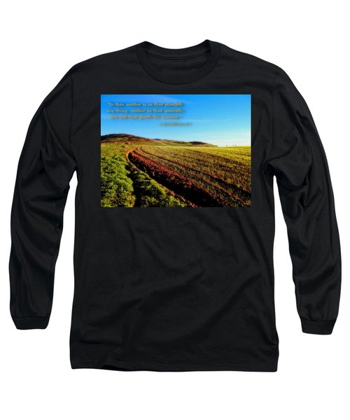 Long Sleeve T-Shirt featuring the photograph God Gives The Increase by Glenn McCarthy
