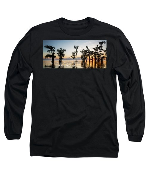 Long Sleeve T-Shirt featuring the photograph God's Artwork by Andy Crawford