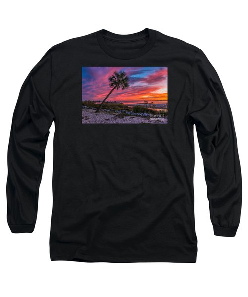 Long Sleeve T-Shirt featuring the photograph God's Grand Finale by Brian Wright