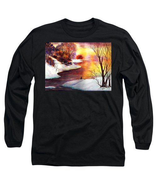 God's Love Letter Long Sleeve T-Shirt by Hazel Holland