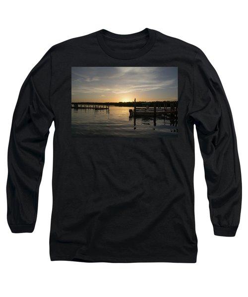 Goin Fishin Long Sleeve T-Shirt by John Black