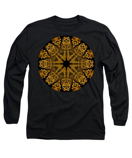 Long Sleeve T-Shirt featuring the photograph Going For Gold by Elaine Teague
