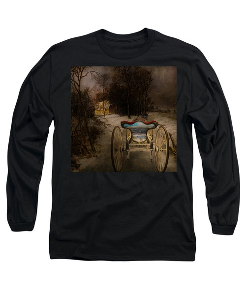 Going Home Long Sleeve T-Shirt by Jeff Burgess