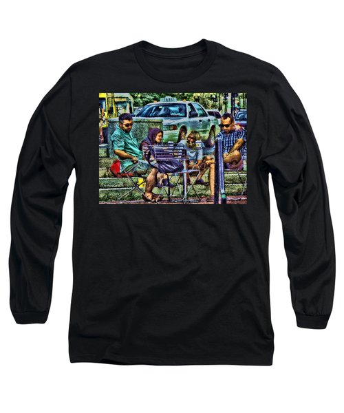 Going Places From Harvard Square Long Sleeve T-Shirt