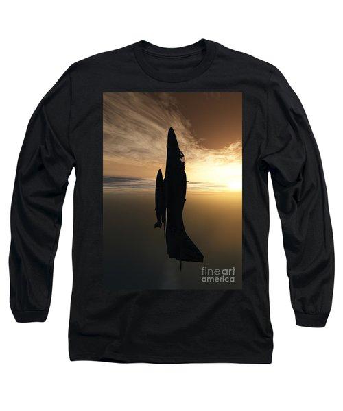 Going Vertical Long Sleeve T-Shirt