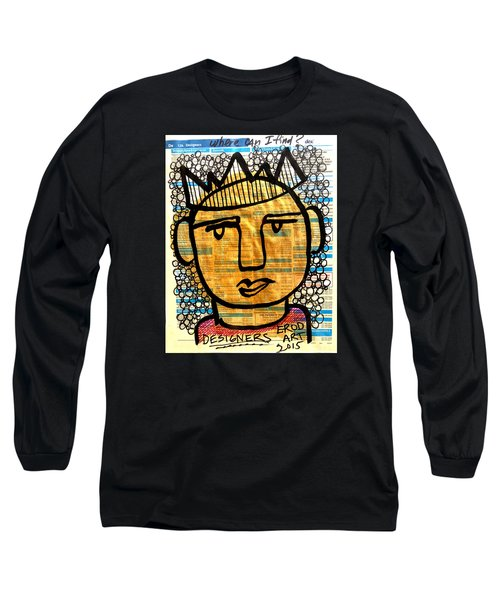 Gold King Long Sleeve T-Shirt