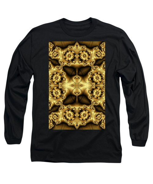 Gold N Brown Phone Case Long Sleeve T-Shirt