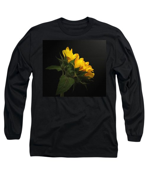 Long Sleeve T-Shirt featuring the photograph Golden Beauty by Judy Vincent