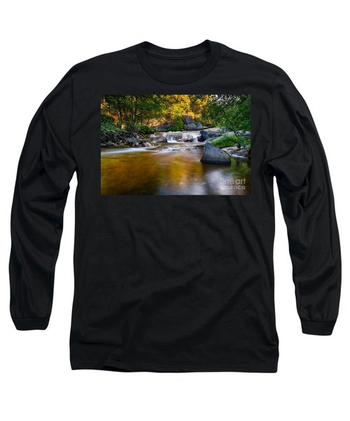 Golden Calm Long Sleeve T-Shirt