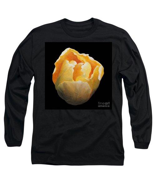 Golden Double Tulip Long Sleeve T-Shirt