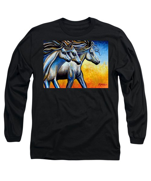 Golden Embers Long Sleeve T-Shirt