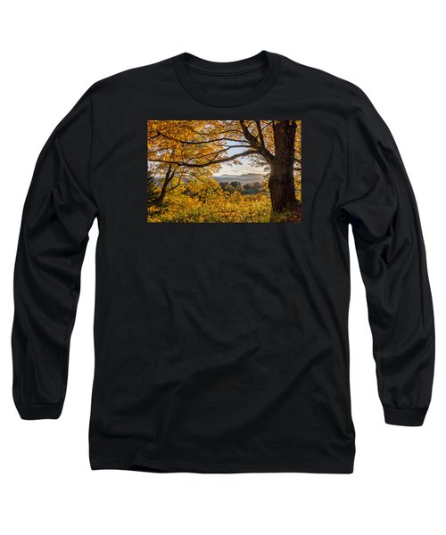 Vermont Framed In Gold Long Sleeve T-Shirt