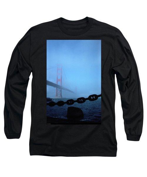 Golden Gate Bridge From Fort Point Long Sleeve T-Shirt
