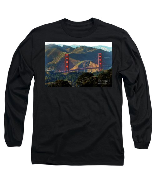 Long Sleeve T-Shirt featuring the photograph Golden Gate Bridge by Steven Spak